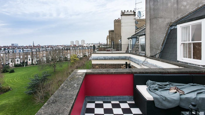 Amazing view from one of London's best penthouse.