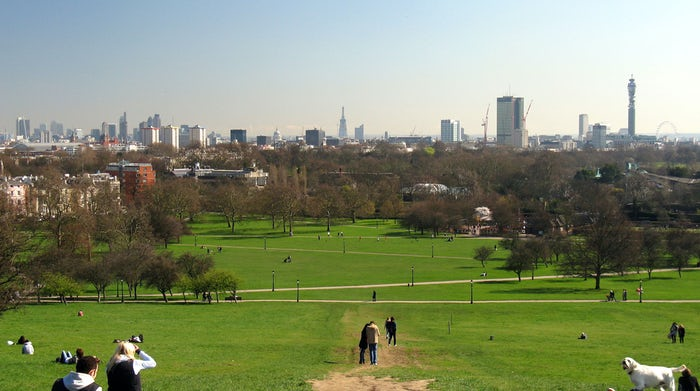 With panoramic views and luscious green space, Primrose Hill is the perfect spot for a summer picnic in London.