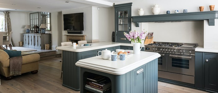 A kitchen perfect for foodies in one of our London vacation rentals in Kensington