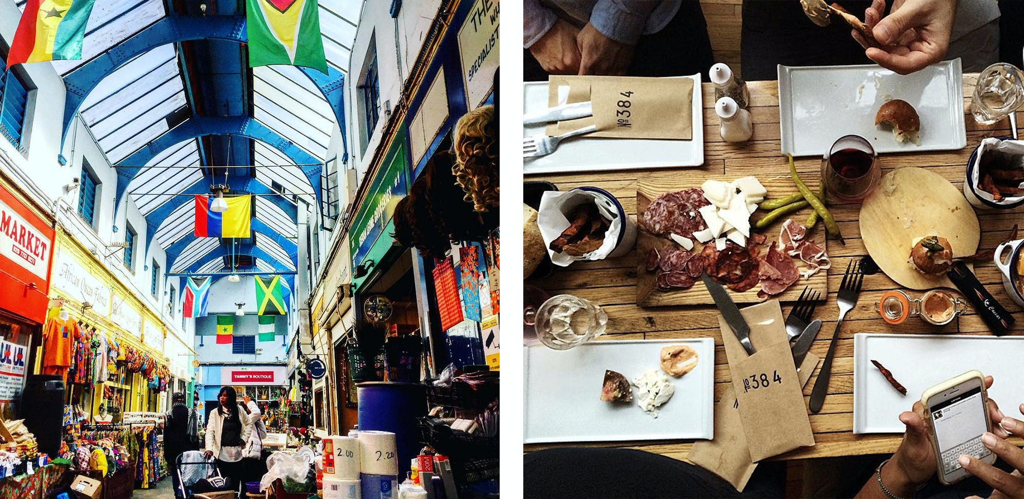 Brixton is the new up and coming area for young adults in London, be sure to head here for some music and food from around the world