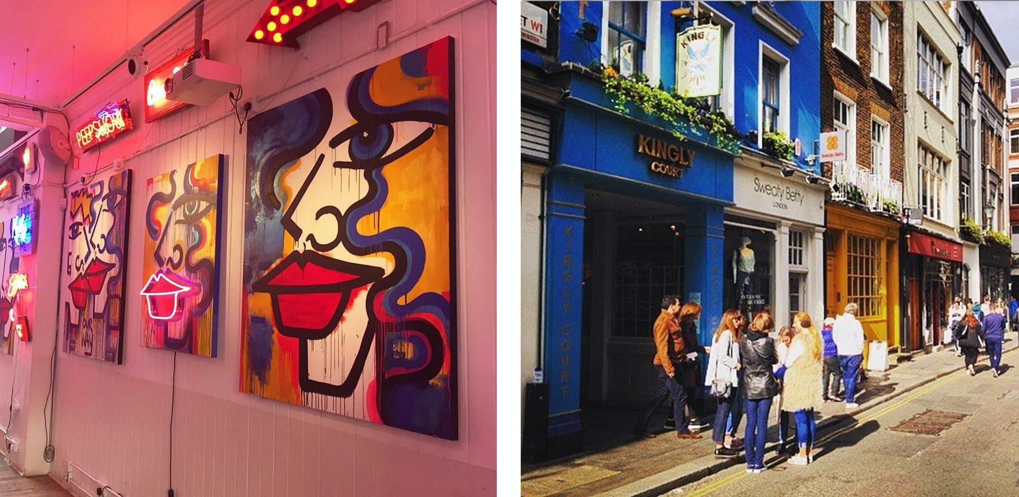Soho has everything that a young adult in London could possibly want, we made a list but wandering around aimlessly is equally pleasant.