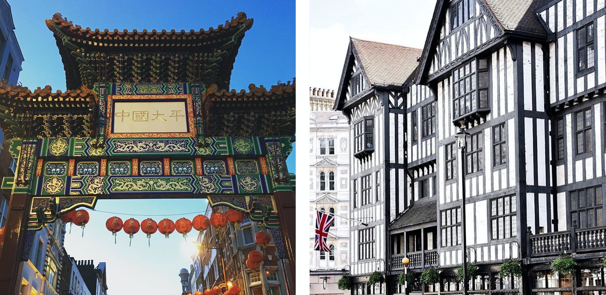 Chinatown is a famous area in shopping, best to get a chinese feeling while staying in central London. Try some bubble tea or buy some typical chinese products at the local supermarkets.