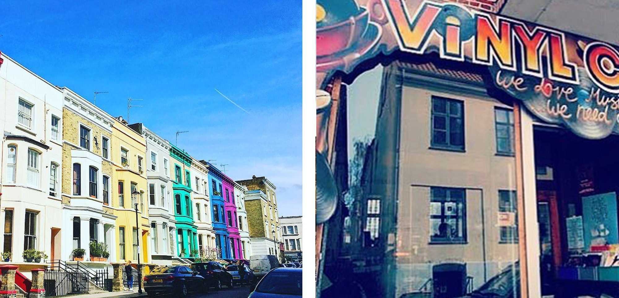 Portobello road Market is one of the best areas to go to if you want to do some vintage or antiques shopping.