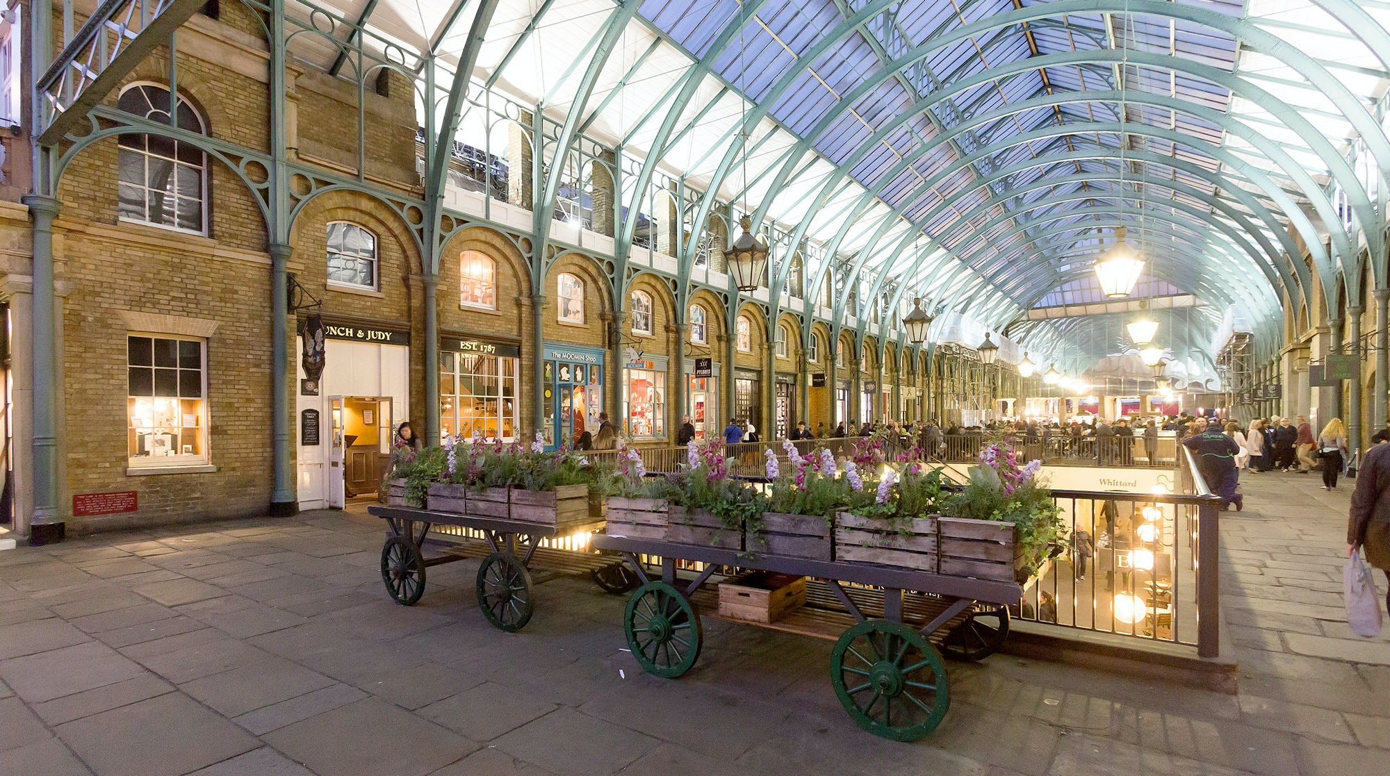 Covent Garden is a great area to go with children, with great children-friendly restaurants and museums you'll have plenty to keep them busy with.
