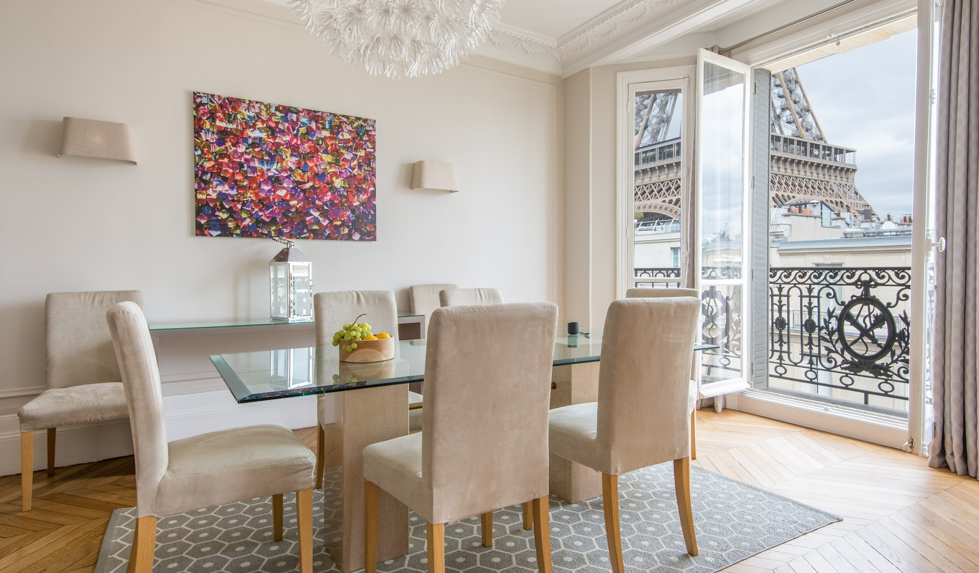 Stylish Paris condo perfect for a day trip to Versailles
